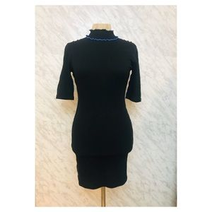Topshop Mini Dress Black Size 6